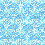 Dill batik (aqua)