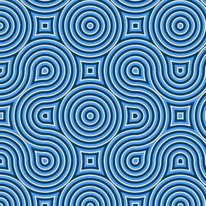 Optical Swirl blue,black,white,