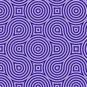 Optical Swirl purple,black, white,