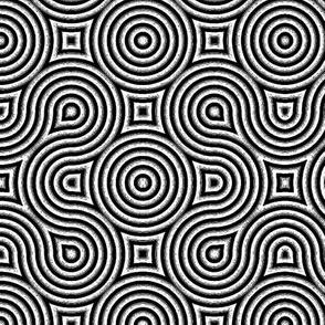 Optical Swirls Black and White