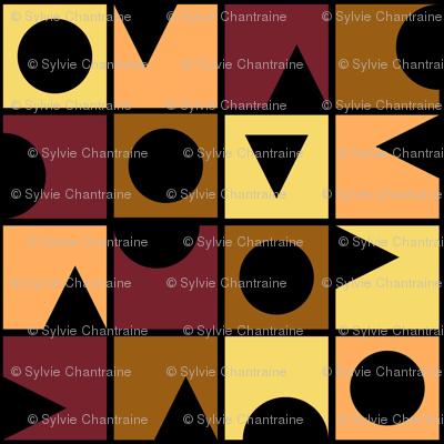 TUTTI FRUTTI BANANA SPLIT Small Scale Geometric