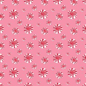 Peppermint Toss pink