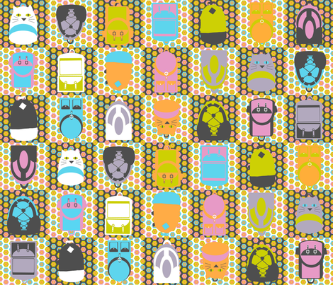 backpacks4 fabric by amyjeanne_wpg on Spoonflower - custom fabric