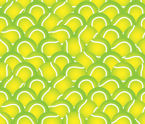 Balls fabric by p_kok on Spoonflower - custom fabric