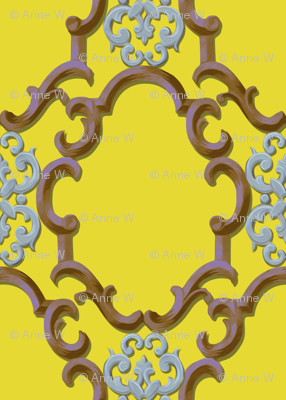 cartouches in gold