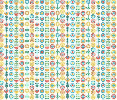 Scandinavian Stripes - Rainbow fabric by studio_amelie on Spoonflower - custom fabric