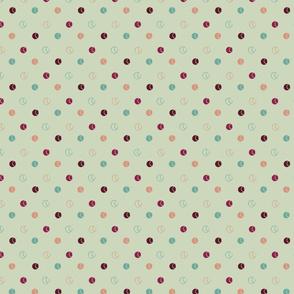 Tennis Polka Dot