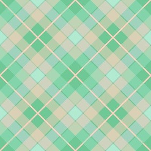 Plaid Peppermint Peach