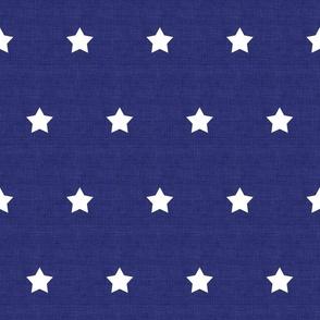 Star Polka Dot in Navy