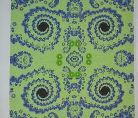 Textured Spiral Fractal