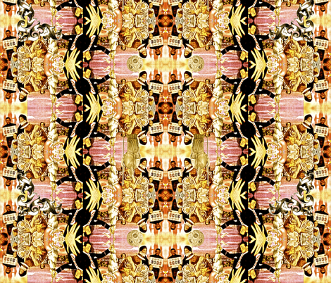 Now you see it. Now you don't. fabric by whimzwhirled on Spoonflower - custom fabric