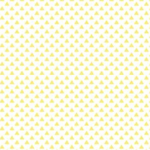 triangles lemon yellow
