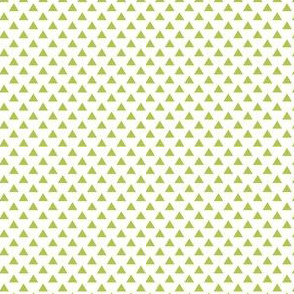 triangles lime green