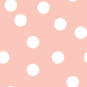 dots // pink baby nursery baby pink cute polka dot dots spots
