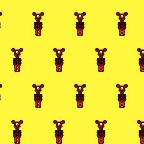 Boy Alien Bear