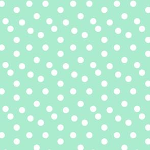 dots // dot sweet mint nursery baby kids cute baby nursery mints
