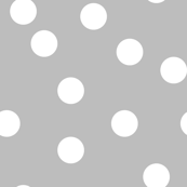 dot // grey dots spots polka dot gray dots baby nursery simple coordinate grey dots fabric