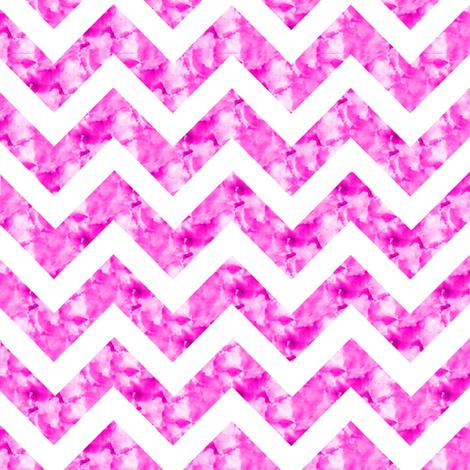 Dreamy Pink Marble Chevron Zig Zag Watercolor Stripe Paris Bebe Med Fabric By Parisbebe On Spoonflower