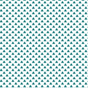 triangles dark teal