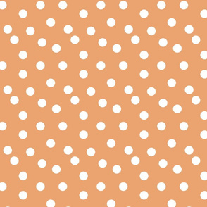 Polka Dots - Melon by Andrea Lauren