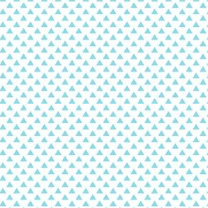 triangles sky blue