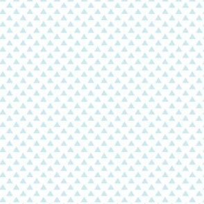 triangles ice blue