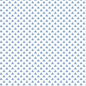 triangles cornflower blue