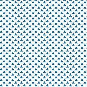 triangles royal blue