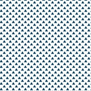 triangles navy blue