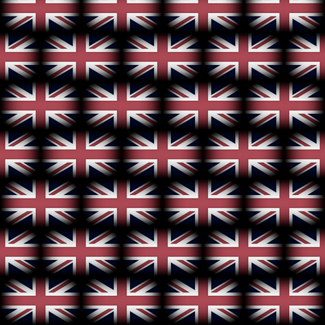 United Kingdom Flag ~ Wee fabric by peacoquettedesigns on Spoonflower - custom fabric