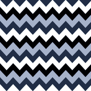 NAUGHTY NAUTICAL CHEVRON