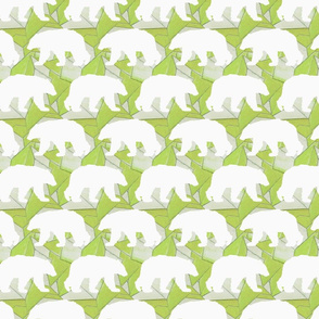 Geo Polar Bear in Green