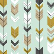 Fletching Arrows // Woodland on Mint