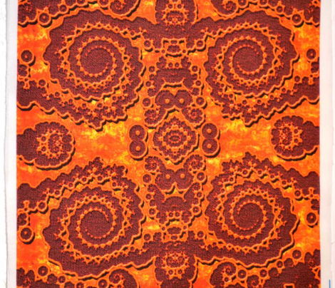Russet Lace Fractal