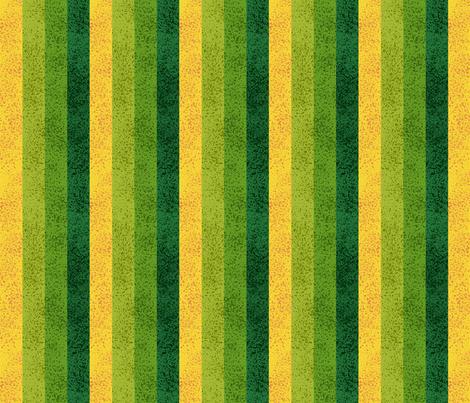 Green Lawn Stripe fabric by stitchyrichie on Spoonflower - custom fabric