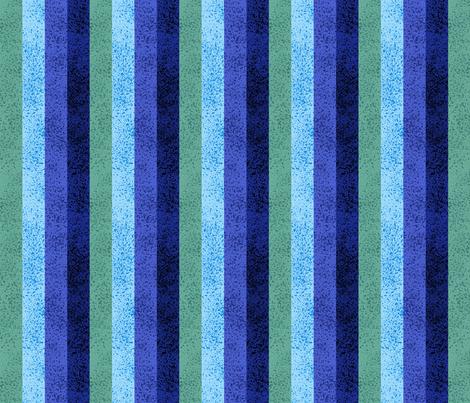 Blue Lawn Stripe fabric by stitchyrichie on Spoonflower - custom fabric