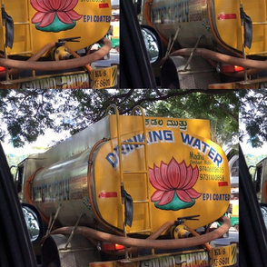 Bangalore Water Truck, large