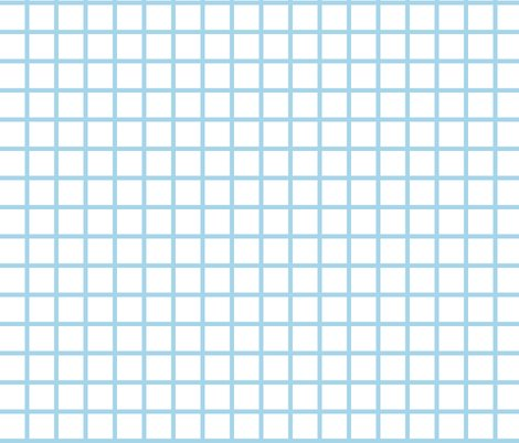 grid whitesky blue by andrea lauren fabric andrea
