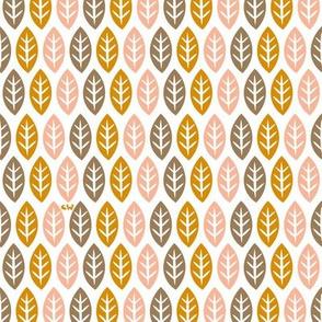 Pastel Leaves & Little Trees