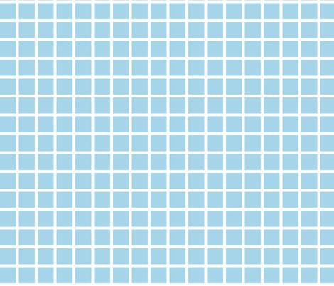 grid sky blue by andrea lauren fabric andrealauren