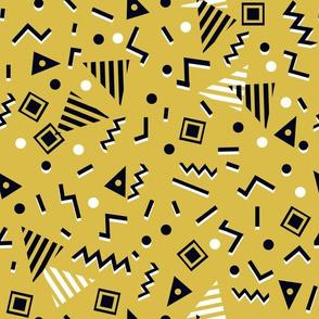 Zig Zag - Mustard by Andrea Lauren