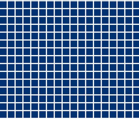 Grid - Navy by Andrea Lauren fabric by andrea_lauren on Spoonflower - custom fabric