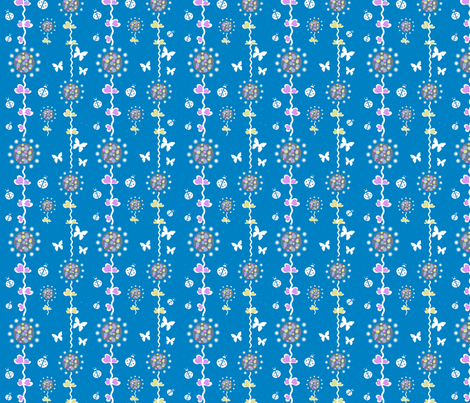 Spring Trail fabric by little_ladybird on Spoonflower - custom fabric