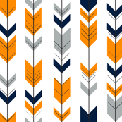 Arrows Orange/Navy/Grey
