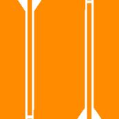 arrows // orange