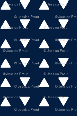 Triangles // navy
