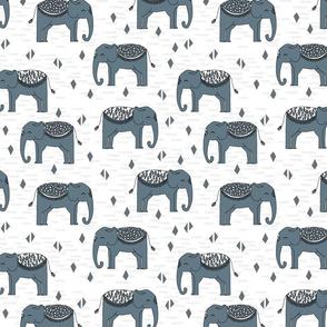 Elephant - Phillipsburg Blue (Custom) by Andrea Lauren