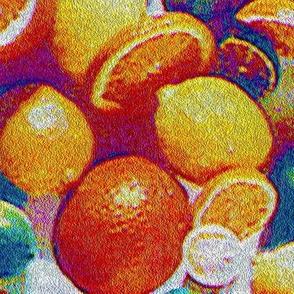 Stipppled 50s citrus