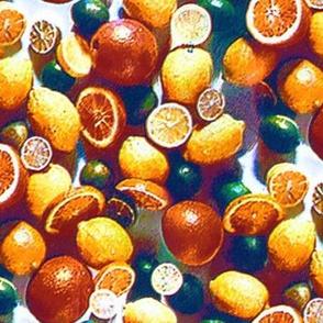 Grainy 50s citrus