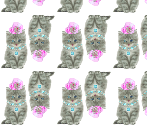 kitty_doll fabric by jill_page on Spoonflower - custom fabric
